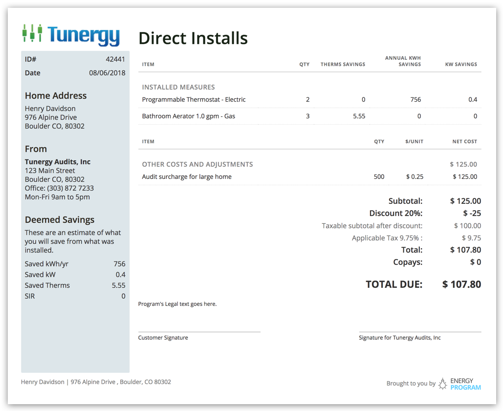 Power up your residential direct install program
